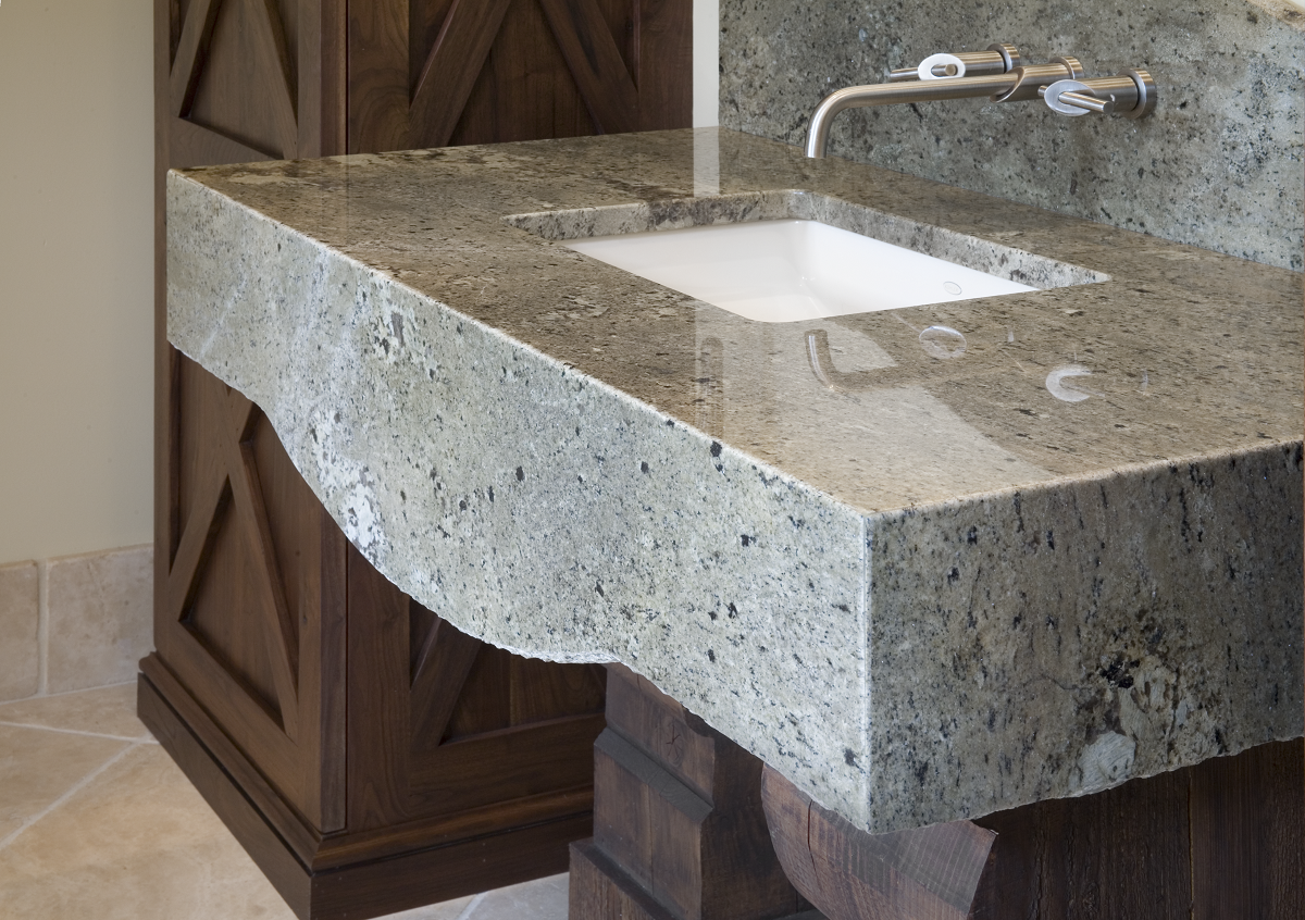 The Lication Of Granite Bathroom Countertops