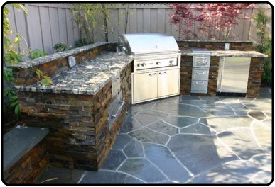 Outdoor Kitchen Fineline