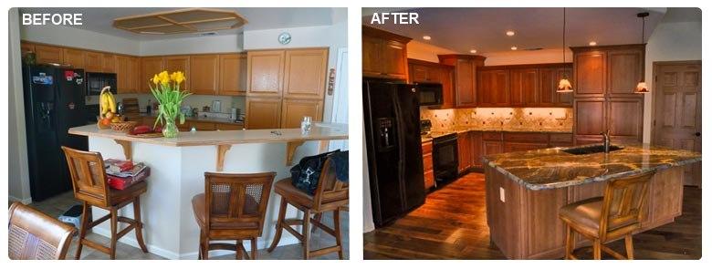 Why do Realtors suggest granite countertops in the kitchen?