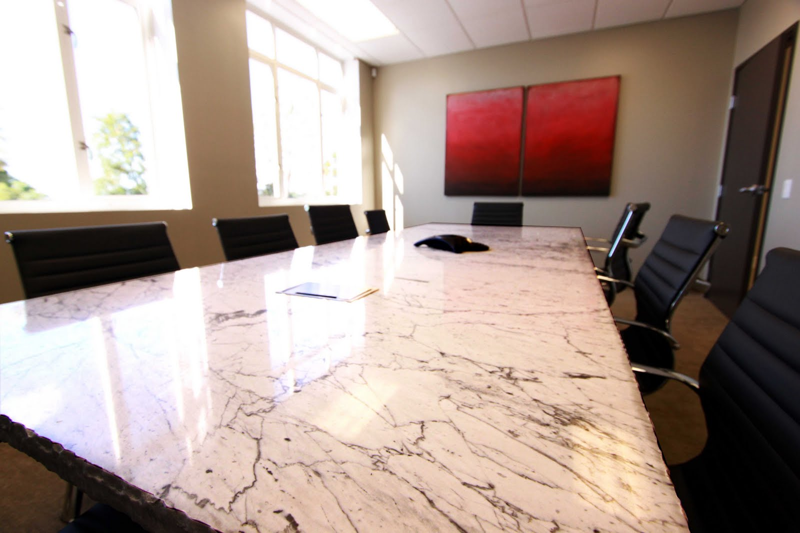 Office Modlich Stoneworks - Granite conference table