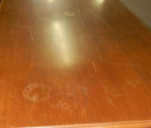 Wood Table Damage