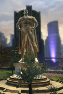 Superhero Statue