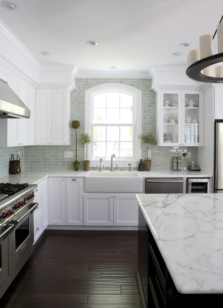 Carrara-Marble-Kitchen